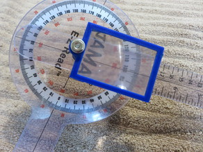 Low Vision Magnifier for Large Goniometer