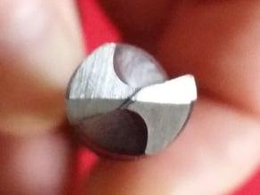 DIY 4 facet drill bit sharpener = razor sharp awsome drill bits. V1