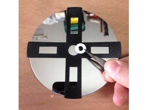 Gabarit pour œillet de miroir primaire 114mm