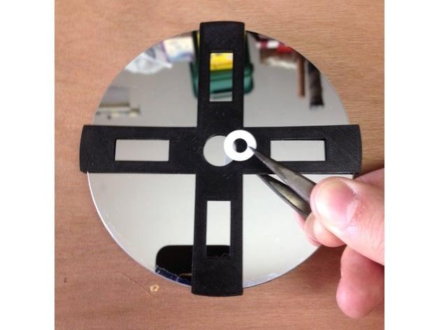 Gabarit pour illet de miroir primaire 114mm by for Miroir pour telescope