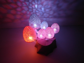 Magic Mushrooms - a lighted decoration