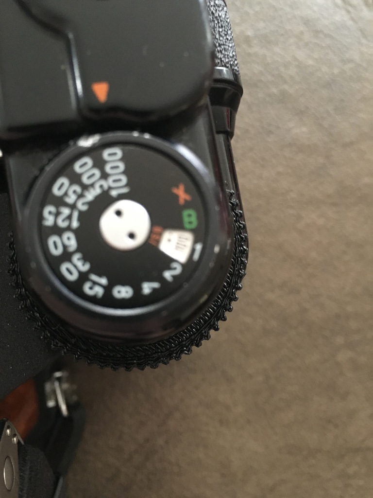 Pentax 67 Shutter Speed Ring Extender for use with Metering Prism by