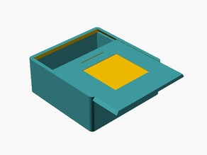 Customizable Sliding lid box