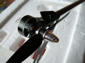 Trex 450 Pro direct drive tail mount