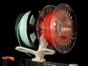 Double ultimate filament holder for Prusa i3 mk 2