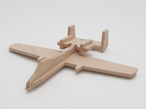 A-10 Thunderbolt simplified cnc/laser