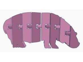 Flexi Hippo (Dual Extrusion)
