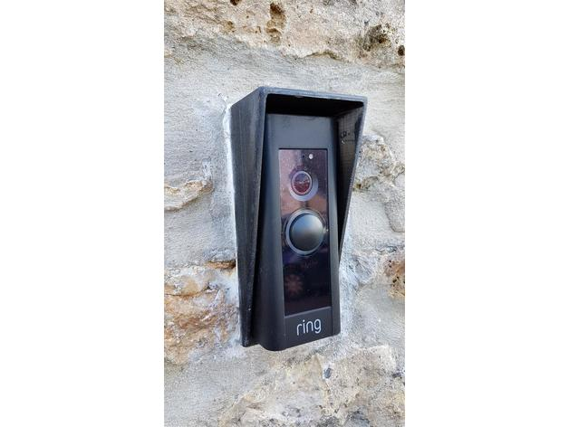 Ring Doorbell Pro rain protection by f1oat - Thingiverse