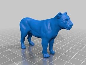 ライオン(Lioness)3Dデータ