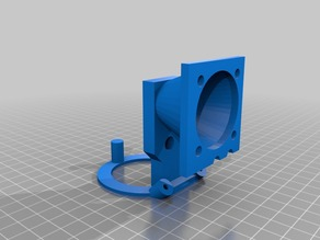Printrbot Simple Extruder Fan, Cooling Fan, and LED Ring Mount