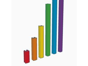 Creality CR-10 Rail Insert (Multiple Lengths)