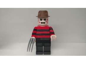 Giant Lego Freddy Krueger
