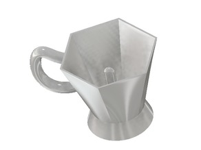 Pythagorean cup aka Greedy cup with ipt file