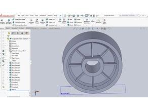Jang Seeder Wheel - Blank