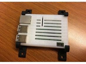 Mounting Bracket for Raspberry Pi Sleeve Case