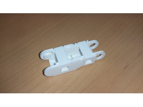 Cable chain for CNC and printer, printed flat