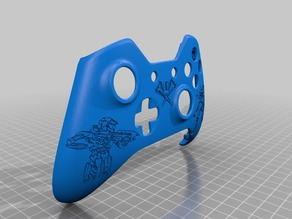 Xbox One S Customer Controller Shell - Halo Edition
