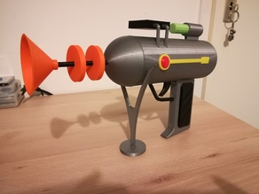Support for Rick's Laser Gun