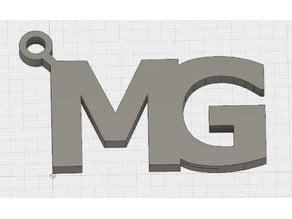 MG keychain