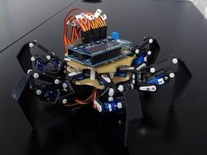 HEXRO - 12-servo-motors hexapod robot