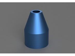 Liquid soap screwable funnel