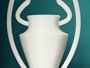 UEFA Champions league trophy replica