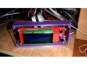 Tevo Tarantula LCD Control Wrap-Around
