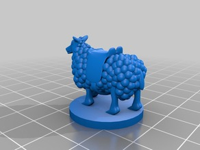 Riding Sheep for Tabletop Gaming