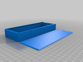 Rounded box with lid
