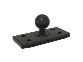"""Lowrance 7 1.5"""" Ball mount"""
