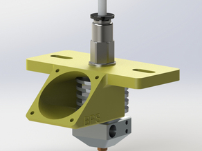 BPS Extruder Adapter with Fan Mount