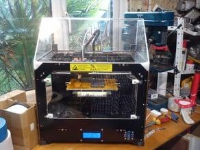 Replicator full acrylic windows and hood non-laser cut CTC Dual