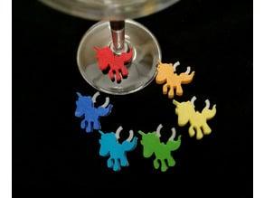 Unicorn Glass Marker