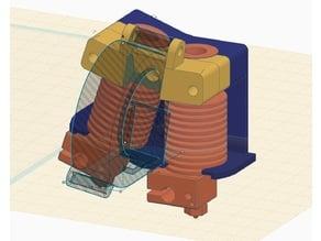 Pivot Dual Hotend Carrier Remix
