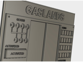 Gaslands Dashboard