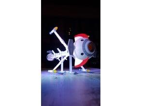Comet - Captain Future - modified parts