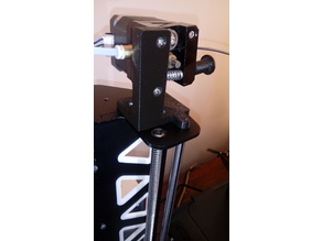 E3D V6 Motor Mount Anet A8 Tatara (Steel Frame)
