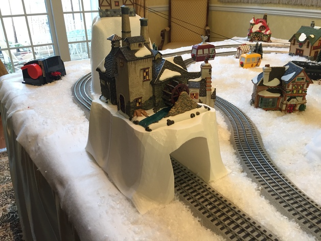 Tunnel for Toy Train Set
