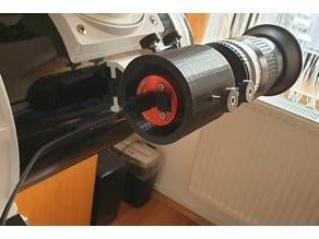 Guiding camera holder