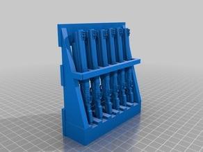 Miniature Shotgun Rack
