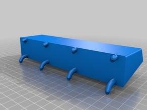 Peg Board Shelf