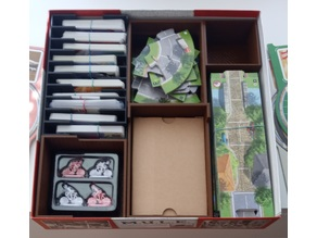 Flamme Rouge including Peloton expansion insert