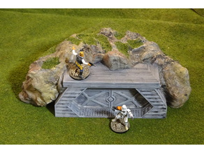 Modular gaming hills - entrances