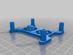 CNC xPro v3 WorkBee fan mount