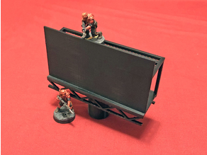Billboard 28mm Sci-Fi Terrain