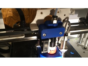 Printrbot Bowden Extruder Mount Ubis 13s Klipper Multi Material System