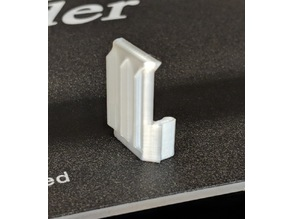 Ender 3 Display Cable Clip Reinforced 90