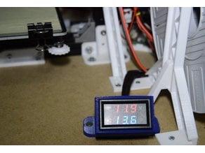Voltage/current monitor enclosure