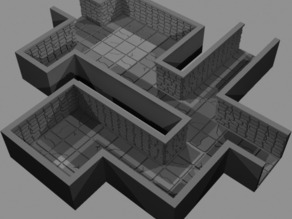 Dungeon Tiles for Miniatures Gaming