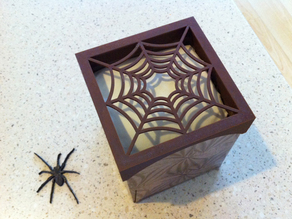 Tissue Box Spider Web Rim